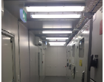CONTAINERISED CONTROL ROOM FITOUT